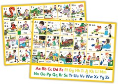 Jolly Phonics Letter sound Wall Charts