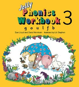 Jolly Phonics Workbook 3 by Sue Lloyd
