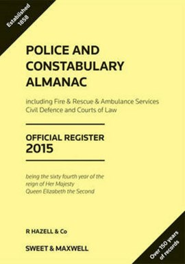 Police and constabulary almanac 2015 by