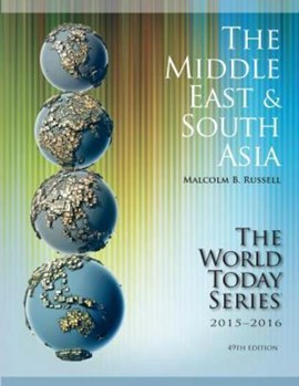 The Middle East and South Asia 2015-2016 by Malcolm Russell