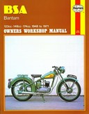 BSA Bantam owners workshop manual