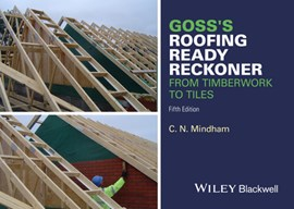 Goss's roofing ready reckoner by C. N Mindham