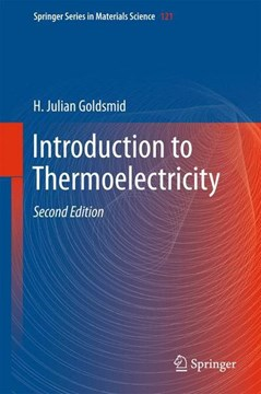Introduction to thermoelectricity by H. Julian Goldsmid