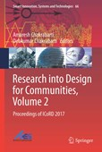Research into design for communities. Volume 2 Proceedings of ICoRD 2017