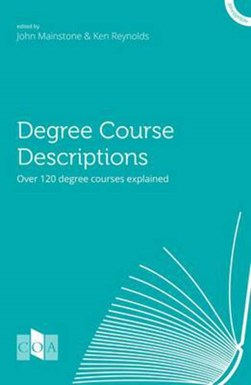 Degree course descriptions by Ken Reynolds