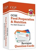 New Grade 9-1 GCSE Food Preparation & Nutrition AQA Revision Question Cards