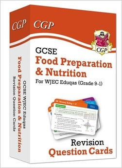 New Grade 9-1 GCSE Food Preparation & Nutrition WJEC Eduqas Revision Question Cards by CGP Books