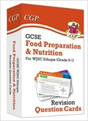 New Grade 9-1 GCSE Food Preparation & Nutrition WJEC Eduqas Revision Question Cards