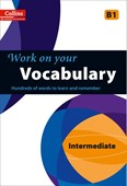 Work on your vocabulary. Intermediate B1