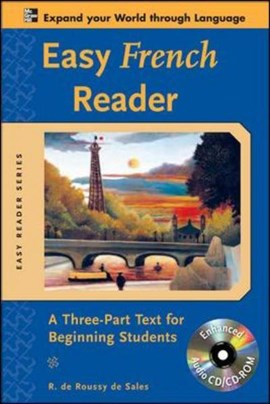 Easy French reader by R. De Roussy De Sales