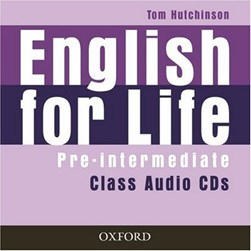 English for life Pre-intermediate class audio CD by Tom Hutchinson