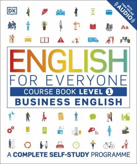 English for everyone Level 1, beginner Course book by DK