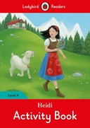 Heidi Activity Book - Ladybird Readers Level 4