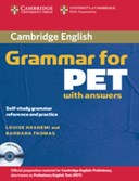 Cambridge grammar for PET with answers