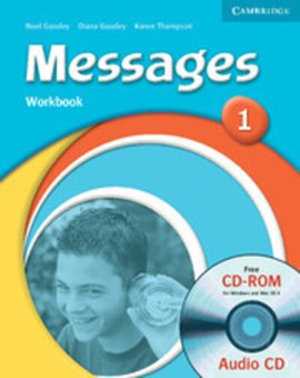 Messages 1 Workbook with Audio CD/CD-ROM by Diana Goodey