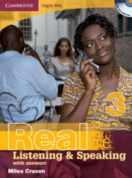 Real listening and speaking 3, with answers and audio CD by Miles Craven