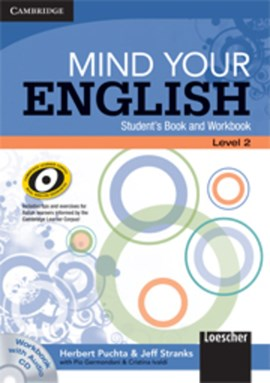 Mind your English Level 2 Student's Book and Workbook with Audio CD (Italian Edition) by Herbert Puchta