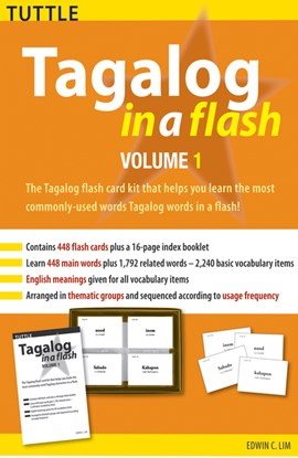 Tagalog in a Flash Kit Volume 1 by Ed Lim