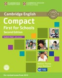 Compact first for schools. Student's book with answers
