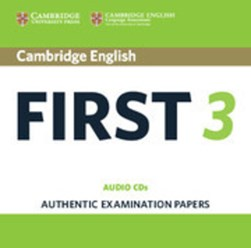 Cambridge English first 3 by