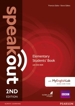 Speakout Elementary 2nd Edition Students' Book with DVD-ROM and MyEnglishLab Access Code Pack by Antonia Clare