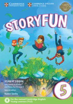 Storyfun 5 Student's Book with Online Activities and Home Fun Booklet 5 by Karen Saxby
