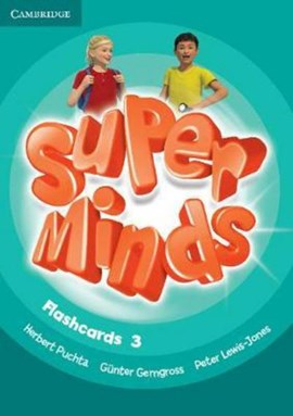 Super Minds Level 3 Flashcards (Pack of 83) by Herbert Puchta