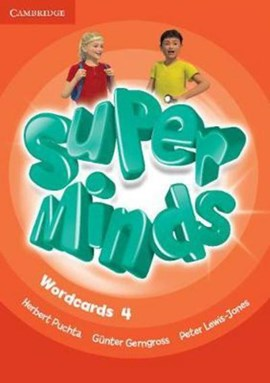 Super Minds Level 4 Wordcards (Pack of 89) by Herbert Puchta
