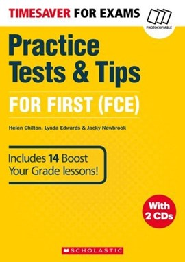 Practice tests & tips for first by Lynda Edwards