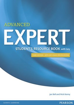 Expert advanced 3rd edition students resource book without key