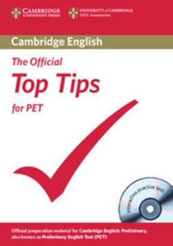 Top tips for PET by Cambridge ESOL