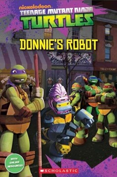 Donnie's robot by Fiona Davis