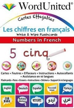 Numbers in French by