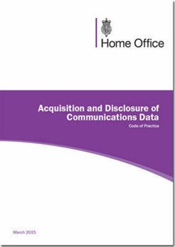 Acquisition and disclosure of communications data by Great Britain