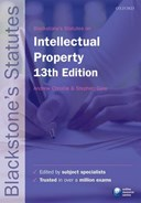 Blackstone's statutes on intellectual property