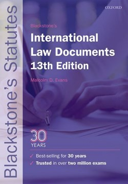 Blackstone's international law documents by Malcolm D Evans