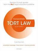 Tort law. Law revision and study guide