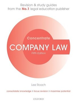 Company law by Lee Roach