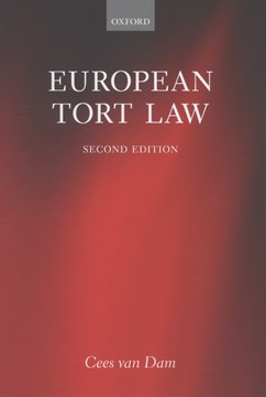 European tort law by Cees van Dam