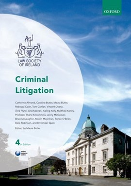 Criminal litigation by Maura Butler