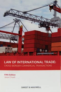 Law of international trade by Jason Chuah