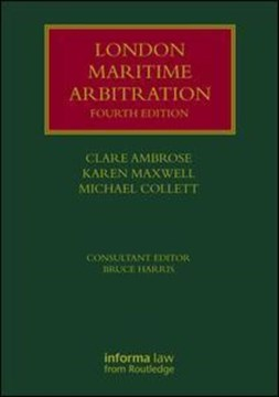 London maritime arbitration by Clare Ambrose