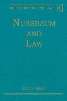 Nussbaum and law by Robin West