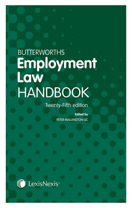 Butterworths employment law handbook by Peter Wallington