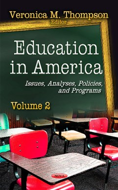 Education in America by Veronica M Thompson