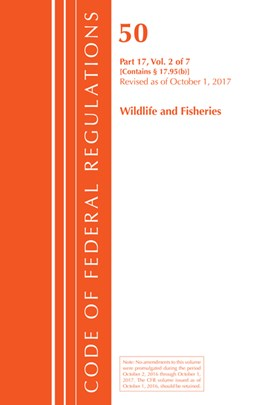 Code of Federal Regulations, Title 50 Wildlife and Fisheries 17.95(b), Revised as of October 1, 201 by Office Of The Federal Register