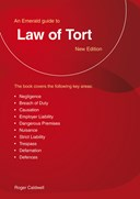 Guide to the law of tort