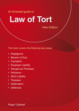 Guide to the law of tort by Roger Caldwell