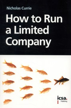 How to run a limited company by Nicholas Currie