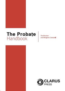 The probate handbook by Tim Bracken